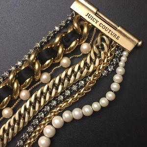 Juicy Couture Jewelry - Juicy Couture Multi Chain Bracelet